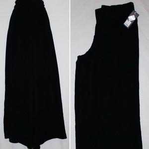 Mossimo Palazzo Wide Leg Pants Black Size XL